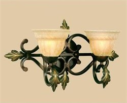 Provencal Vanity Light AF Lighting 4532-2WB