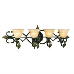 Provencal Vanity Light AF Lighting 4534-4WB