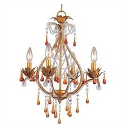 Josephine Mini Chandelier AF Lighting 4940-4H
