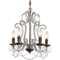 Beloved Mini Chandelier AF Lighting 5195-5H