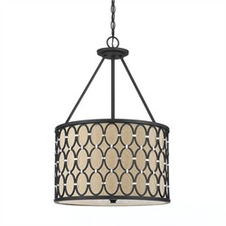 Cosmo Pendant- Oil Rubbed Bronze - AF Lighting 8102-3H