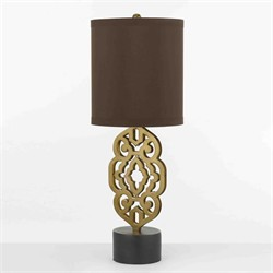 Grill Table Lamp- Satin Brass - AF Lighting 8104-TL
