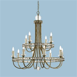 Aristocrat Chandelier - AF Lighting 8208-12H
