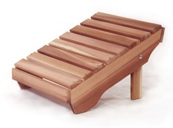 Red Cedar Adirondack Ottoman - All Things Cedar AO21U