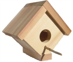 Red Cedar Birdhouse - All Things Cedar BH05U