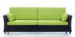 Rattan Deep Seating Sofa - All Things Cedar PR90 (Available in Various Colors)