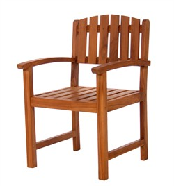 Teak Wood Dining Chair - All Things Cedar TD20
