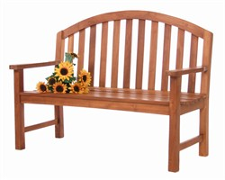 Teak Wood Derby Bench - All Things Cedar TD50