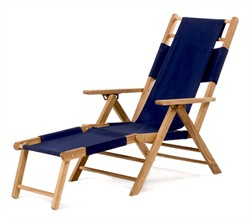 Teak Wood Beach Lounger - All Things Cedar TL20
