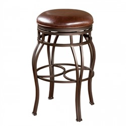 American Heritage Bella-Backless Bourbon Stool 134715PP-L32.2 (Shipping Included)