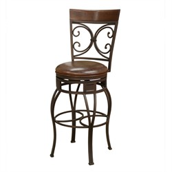 American Heritage Treviso Bourbon Stool 134849PP-L32 (Shipping Included)