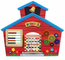 School House Wall Panel - Anatex Toys SCH9032 (Shipping Included)