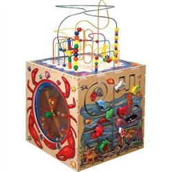Sea Life Play Cube - Anatex Toys - SPC6004 (Shipping Included)