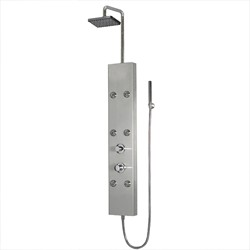Ariel A301 Stainless Steel Shower Panel 63.8x8.6