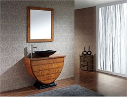 Legacy Vanity in Maple Burl Finish - Avanity LEGACY-V40-BU (Shipping Included)