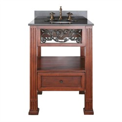 "Napa Vanity Set 24"" in Dark Cherry Finish - Avanity NAPA-VS24-DC-A (Shipping Included)"