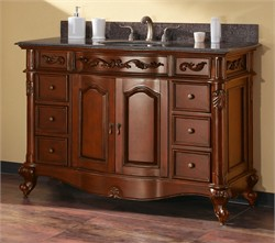 "Provence Vanity Set 48"" in Antique Cherry - Avanity PROVENCE-VS48-AC (Shipping Included)"