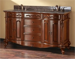"Provence Vanity Set 60"" in Antique Cherry - Avanity PROVENCE-VS60-AC (Shipping Included)"