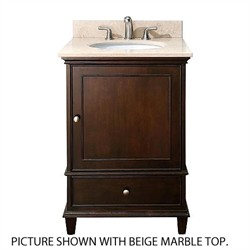 Avanity Windsor 24 in. Vanity Combo w/ White Marble - Avanity WINDSOR-VS24-WA-C (Shipping Included)
