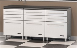 4 Piece Set Short Cabinet w/ Work Top Ulti-MATE Storage GA-043KSW