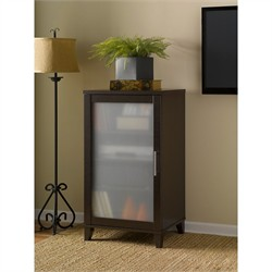 Somerset Media Cabinet in Mocha Cherry - Bush Furniture AD81840