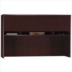 Northfield Credenza Hutch in Harvest Cherry - Bush Furniture EX17713