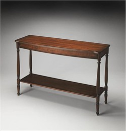 Plantation Cherry Console Table - Butler Specialty 2622024 (Shipping Included)