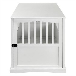White Pet Crate End Table - Casual Home 600-21