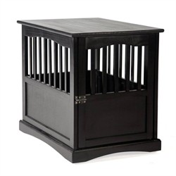 Black Pet Crate End Table - Casual Home 600-42