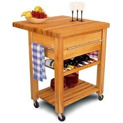 Baby Grand Workcenter with Wine Rack - Catskill Craftsmen 2008