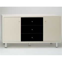 Modern High Gloss Lacquer Buffet - Chintaly DEBORAH-BUF