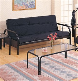 Black Futon Frame - Coaster 2334