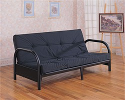 Black Futon Frame - Coaster 2345