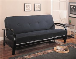 Black Futon Frame - Coaster 300159