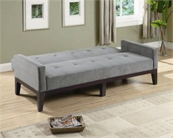 Contemporary Grey Sofa Bed - Coaster 300229