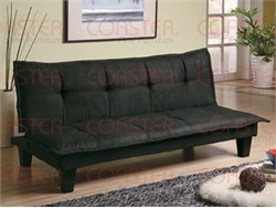 Dark Grey / Black Sofa Bed - Coaster 300238