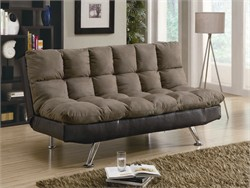Contemporary Brown Sofa Bed - Coaster 300306