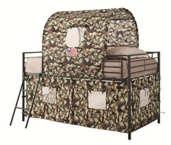 Army Camouflage Tent Bed - Coaster 460331