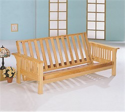 Natural Futon Frame - Coaster 4838