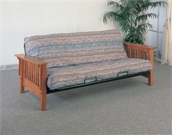 Mission Style Oak Futon Frame - Coaster 4844