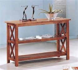 Casual Brown Sofa Table - Coaster 5908