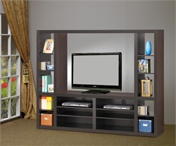 Cappuccino Entertainment Center - Coaster 700620