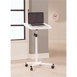 White Laptop Stand - Coaster 800484