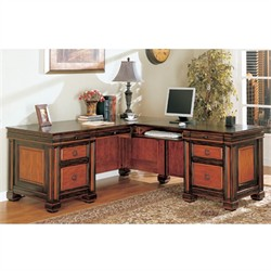Tate Collection L-Shaped Desk - Coaster 800691