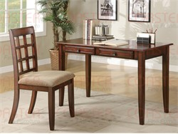 2 Piece Wood Desk Set - Coaster 800778