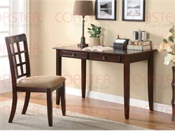 2 Piece Cherry Desk Set - Coaster 800780
