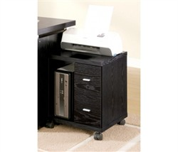 Contemporary Black File Cabinet - Coaster 800822