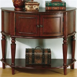 Transitional Brown Accent Table - Coaster 950059