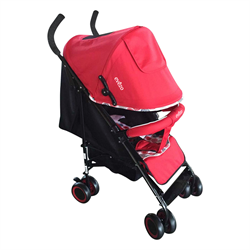 Travis Lightweight Red Stroller with 3 Positions - eBaby-214R