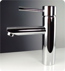 Fresca-FFT1040CH Tartaro Single Hole Mount Bathroom Vanity Faucet - Chrome  (Shipping Included)